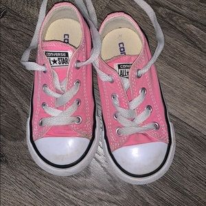Toddler Converse Shoes Pink